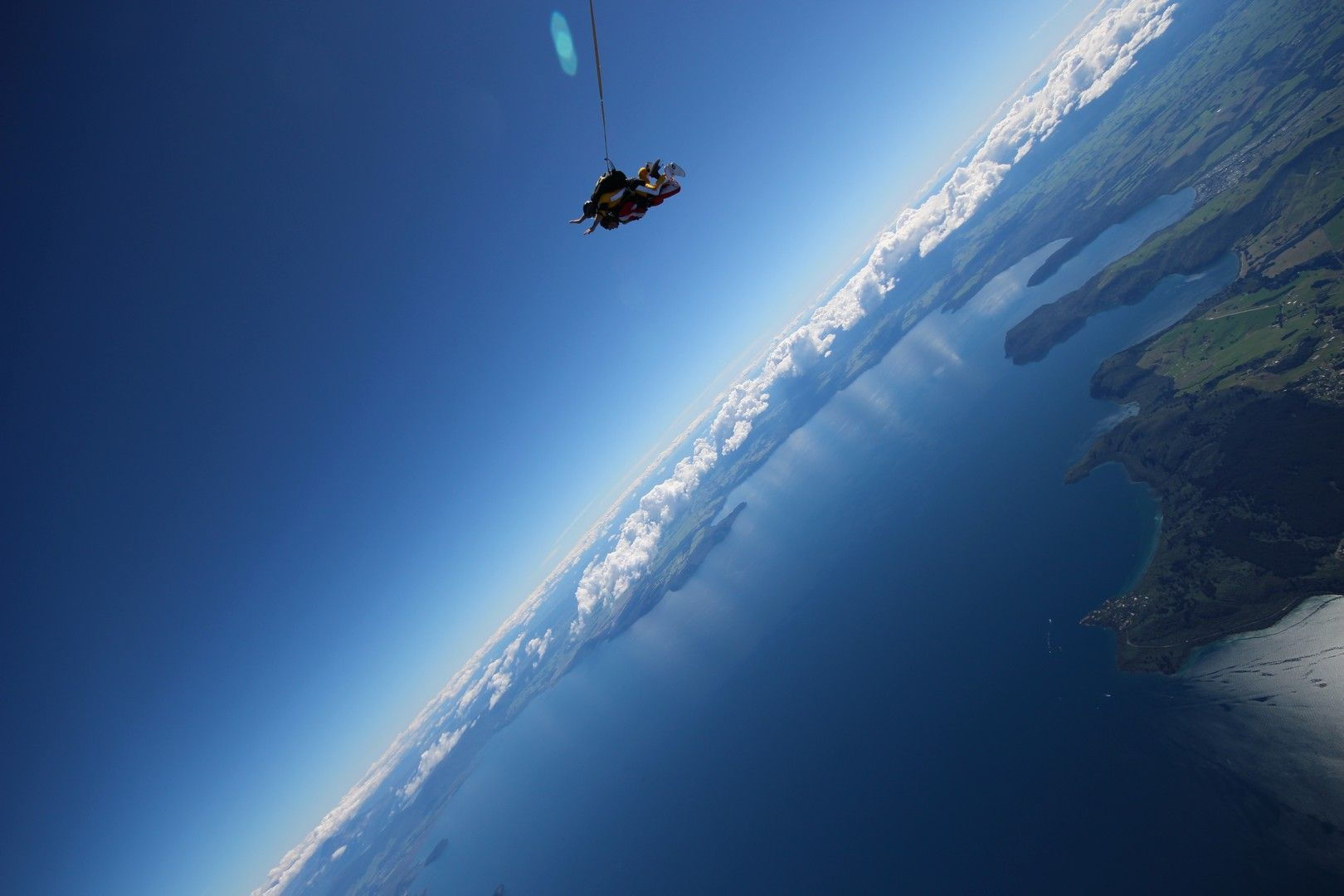 weekday skydive discount offer in Taupo