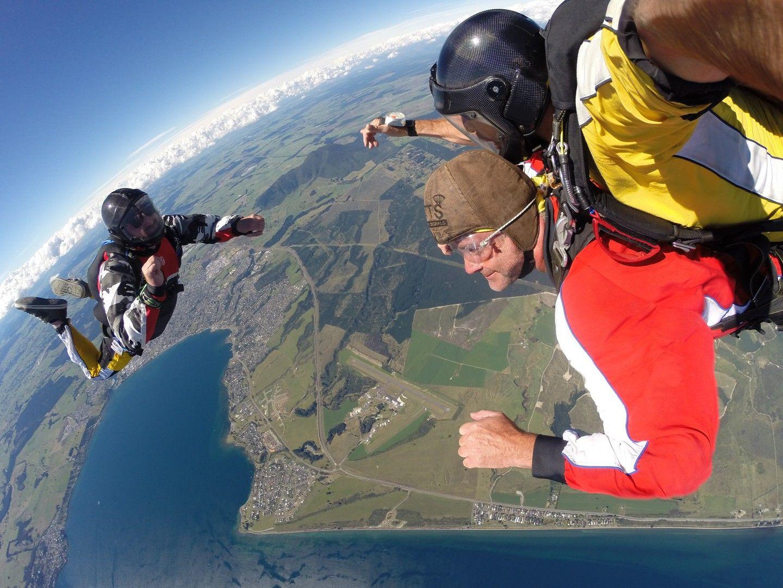Tandem Skydive Taupo