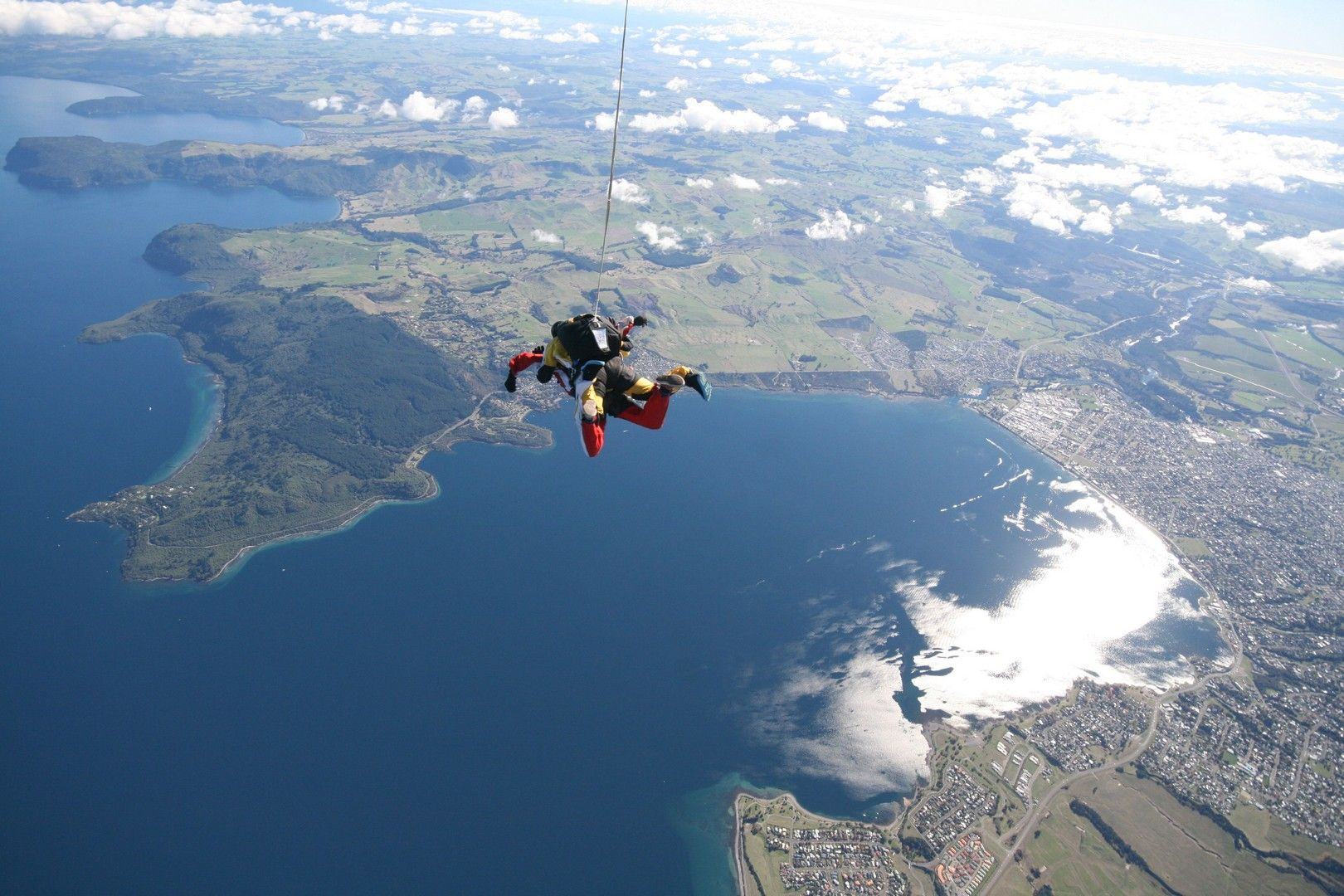 10% off skydiving camera packages at Taupo Tandem Skydive